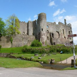 Laugharne-Castle
